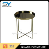 Chinese Foctory Metal Golden End Table with Competitive Price