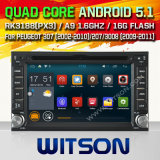Witson Android 5.1 Car DVD for Peugeot 307 (2002-2010) (W2-F9900P)