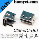 Heightening Type SMT 5pin Micro USB Connector