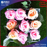 High Quality Acrylic Round Flower Box for 9 Rose