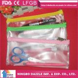 Wholesale Zipper Transparent School Kids PVC Pencil Case