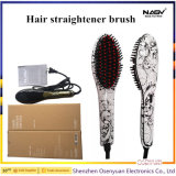 Hair Straightener Brush with CE RoHS FCC Certifacates