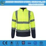 Hi Vis Insulated Bomber Reflective Jacket Coat Pants Road Work Safety Reflect Jacket