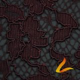 Knitted Polyester Spandex Lycra Lace Fabric Underwear Sexy Lingerie (LTT-601#)