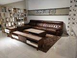 European Style Leather Soft Sofa Living Room Sofa Set (SBL-1703)