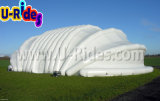 Inflatable sailboat shape huge Air Dome Tent Structure