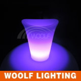 Outdoor Beverage LED Ice Bucket with Stand