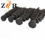 Wholesale Indian Natural Black Curly Hair Weave Sew in Extension