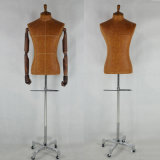 Popular Male Tailoring Mannequin Bust with Pants Holder