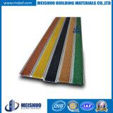 34*8.05mm Slip Resistant Carborundum Custom Aluminum Stair Treads