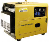 5000W Soundproof Small Portable Diesel Generator with CE/CIQ/ISO/Soncap
