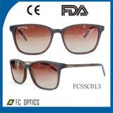 Handmade Sunglasses Acetate Sunglasses with High Quality Glasses (FCSSC0013)