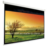 "60""X60"" Manual Wall Projection Screen, Pull Down Projector Screen"