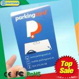 868MHz identification passive UCODE G2XM UHF RFID parking Card