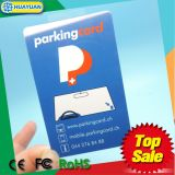 PVC identification passive UHF U CODE G2XM RFID parking Card