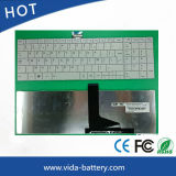 Computer/Notebook/Laptop Keyboard for Toshiba C850 White Fr