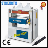 Woodworking Thickness Planer with Helical Cutter Head