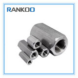 Stainless Steel DIN 6334 Hex Rod Coupling Nuts