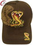 Snake Embroidered Fashion Promotional Leisure Sport Baseball Cap