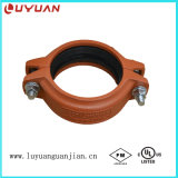 Grooved Coupling and Pipe Fitting with UL/FM/Ce Approval