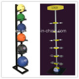 Metal Sport Ball Storage Display Stand