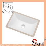 Cupc Rectangular Ceramic Under Counter Sink (SN015)