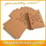 Folding Brown Kraft Paper Beautify Cosmetic Box Packaging (BLF-PBO379)