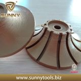 High Quality Diamond Profile Wheel Equipped on CNC for Marble
