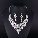 New Style Classical Clear Crystal Silver Plating Necklace