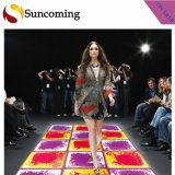 Hot Selling Colorful Interactive Effect LED Liquid Dance Floor Manufacturers