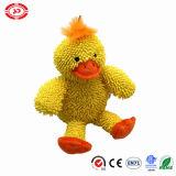 Happy Pet Crew Cut Duck Mop Plush Yellow Sitting Toy