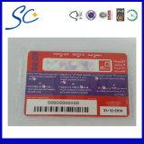 Micro-Text Printing Card (Micro-text printing)
