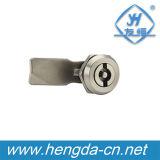 Yh9746 Enclosure Tubular Key Quarter Turn Locks Double Bit Cabinet Cam Lock