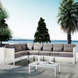 Top Selling Aluminum Outdoor Garden Furniture Sofa Set as Cornor Section (YT955)
