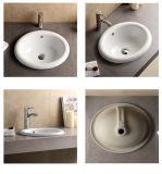 Bathroom Porcelain Drop in Basin with Cupc Certificate (SN041)