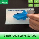 Blue Disposable Elastic TPE Gloves