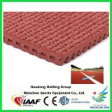 Iaaf Approved Synthetic Prefabricated Rubber Running Track for Stadium