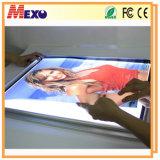 Wall Mounted Advertising Poster Aluminium LED Snap Frame