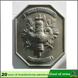 Antique Brass Plating Aluminum Material 70cm Emblem