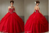 Bra Waist Beaded Bodice Chiffon Evening Party Prom Dress