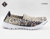 EVA Sole Adult and Kids Sneaker Weave Shoes