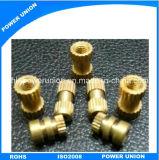 Brass Hardware CNC Turning Machining Customized Machinery Nuts