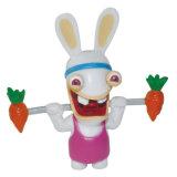 Children Favor Factory Animal Hot Sale Wholesale PVC Vinyl Plastic Rabbit Toy