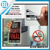 Customized Clear Static Cling Material Window Body Sticker