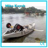 Single Sit on Top Ocean Kayak Fishing Boats Plastic Canoe