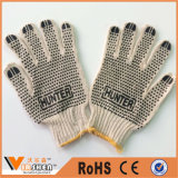 Industrial Polka DOT Cotton String Knitted Safety Gloves