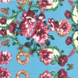 Custom 100% Silk Fabric Digital Textile Printing (TLD-0055)