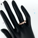 Factory Direct Sale Funky Rose Gold Custom Ring for Women
