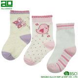 Newborn 3 Pack Lovely Cotton Novelty Baby Grils Sock