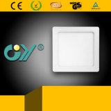 New 12W Square Super Slim Recessed Mounted LED Panellight (CE; TUV)